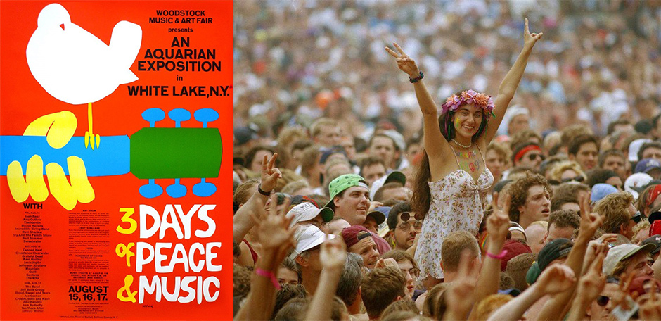 photos from the legendary 1969 woodstock rock festival 49651